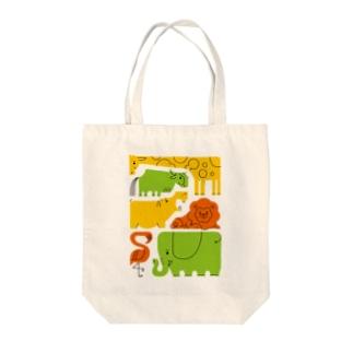 サバンナ Tote bags