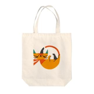 ネコ(1) Tote bags