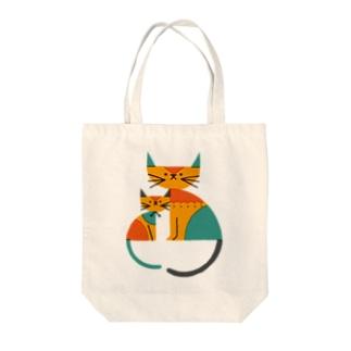 ネコ(2) Tote bags