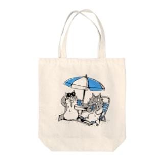 よだれねこの夏2019 Tote bags