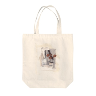 copper flower Tote bags