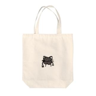 ホコリくん Tote bags