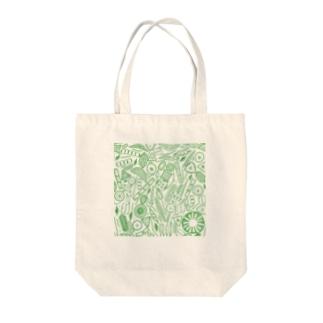 珪藻 Tote bags
