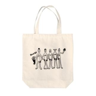 夏のちゃらちゃら星人 Tote bags