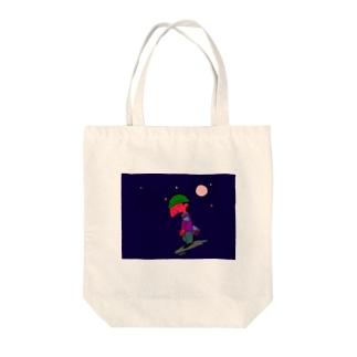 in brief Tote bags