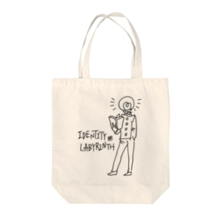 アイデンティティラビリンス ボブ Tote bags