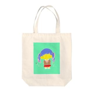 ツインテールちゃん Tote bags
