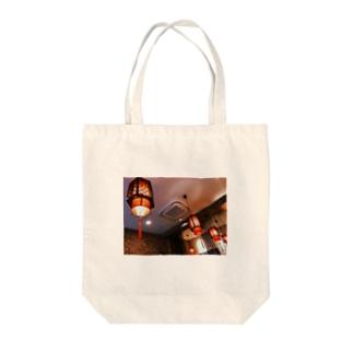 ちょうちん  Tote bags