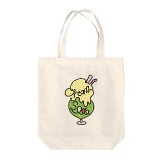 クリームソーダ ロゴマーク Tote bags