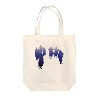 顔面goldの西海岸で話題の仏門style Tote bags