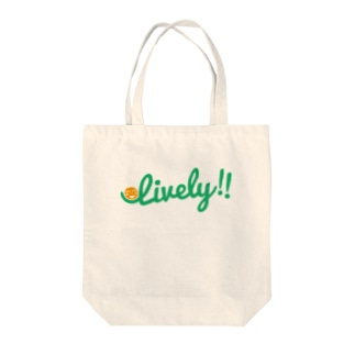 Lively!! Tote bags
