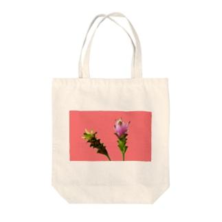 Curcuma alismatifolia -pink Tote bags