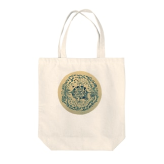 Never land. Tote bags