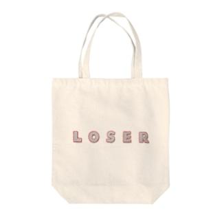 ルーザー Tote bags
