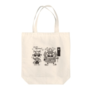 ノマヲと陣右衛門 Tote bags