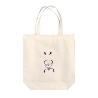ななめむき Tote bags