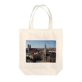 ミュンヘン マリエン広場 Tote bags