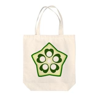 おくら Tote bags