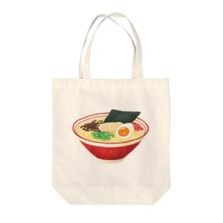 とんこつラーメン Tote bags
