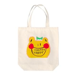 オリジナルカエルちゃんグッズ Tote bags