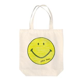 peace shore smile Tote bags