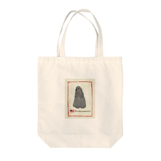 ブラコ アンティーク柄 Tote bags