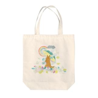 Nan and Kii Tote bags