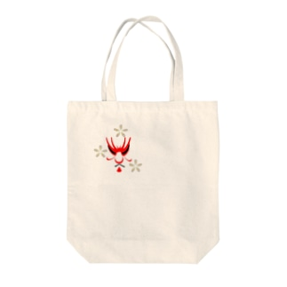 jin's Collection  歌舞伎と花 Tote bags