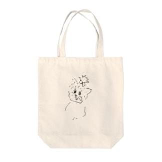 犬① Tote bags
