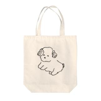 犬③ Tote bags