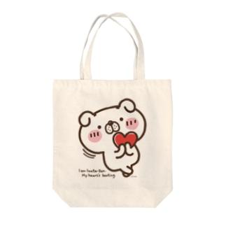 いぬ田さん・はーと♥ Tote bags