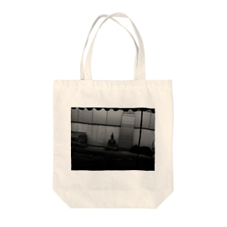 Gods Everywhere Tote bags