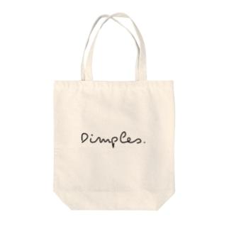Dimples. Tote bags