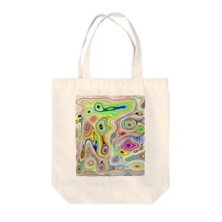 アートっぽく Tote bags