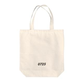 生年月日 _ dark Tote bags
