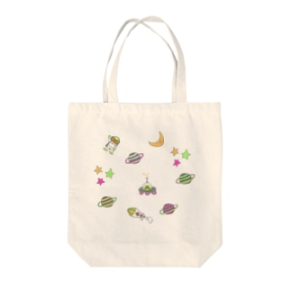 Planet of the Bears Tote bags