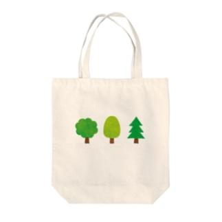 木の佇まい Tote bags