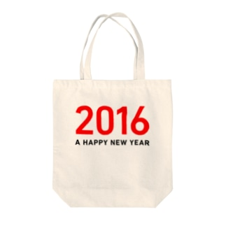 A Happy New Year 2016 Tote bags