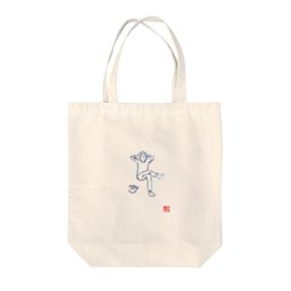 のじの沈黙 Tote bags