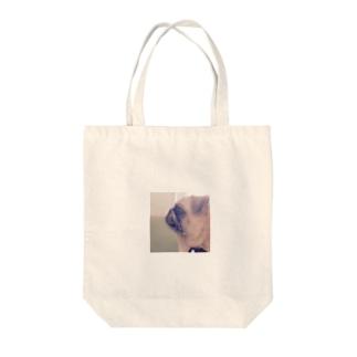 横顔きのこ Tote bags
