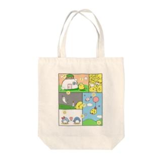 ぴよとるオールスター2019 Tote bags