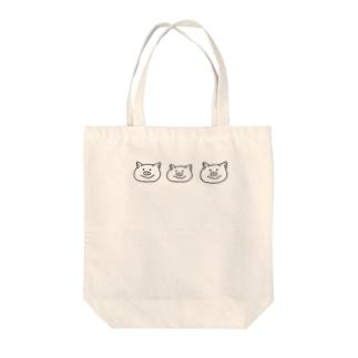 ぶた Tote bags