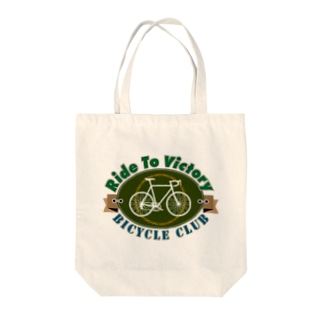 Ride to Victory Tote bags