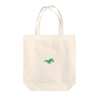 恐竜くん Tote bags