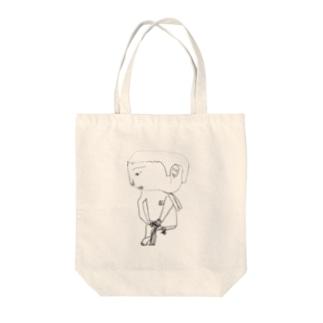 クロッキーの時間 Tote bags