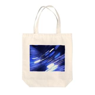 閃光 Tote bags