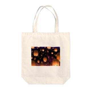 灯籠 Tote bags
