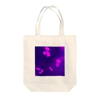 くらげプカプカ Tote bags