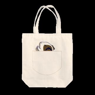 Lichtmuhleのポケットでネンネするモルモット06 Tote bags