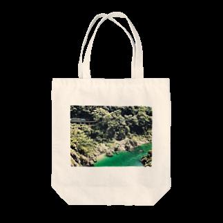 preppの秘境と列車 Tote bags